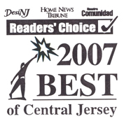 readers choice 2007 best of central jersey
